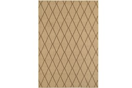 63X90 Outdoor Rug-Gemma Diamond Beige