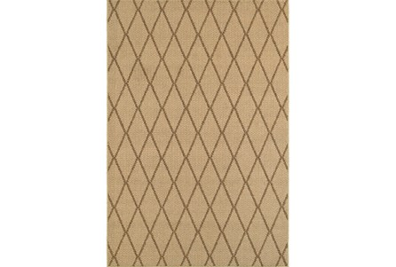 94X130 Outdoor Rug-Gemma Diamond Beige