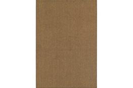 39X60 Outdoor Rug-Gemma Solid Brown