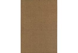 63X90 Outdoor Rug-Gemma Solid Brown