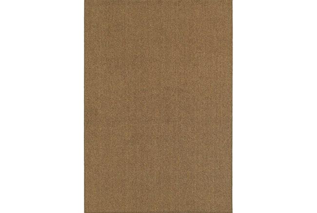79X114 Outdoor Rug-Gemma Solid Brown - 360