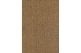 94X130 Outdoor Rug-Gemma Solid Brown