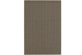 39X60 Outdoor Rug-Gemma Herringbone Grey