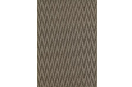 63X90 Outdoor Rug-Gemma Herringbone Grey - Main