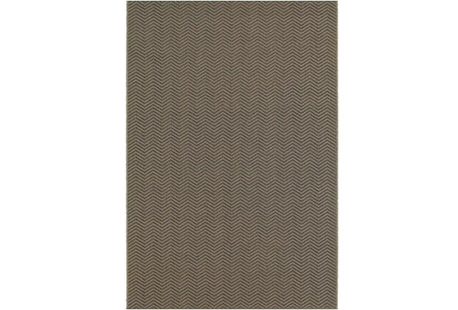 63X90 Outdoor Rug-Gemma Herringbone Grey - 360