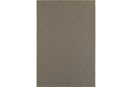 63X90 Outdoor Rug-Gemma Diamond Grey