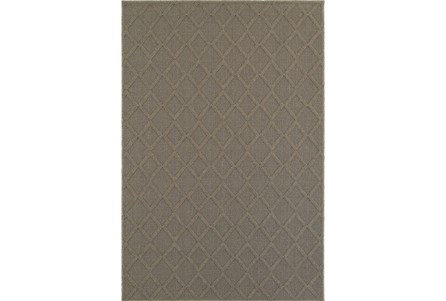63X90 Outdoor Rug-Gemma Diamond Grey