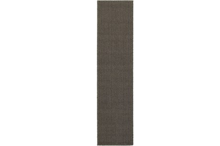 22X90 Outdoor Rug-Gemma Texture Grey