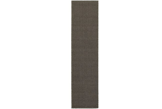 22X90 Outdoor Rug-Gemma Texture Grey - 360