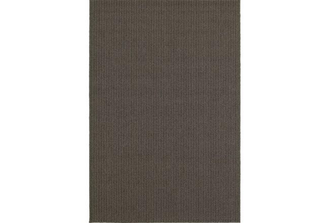 94X130 Outdoor Rug-Gemma Texture Grey - 360