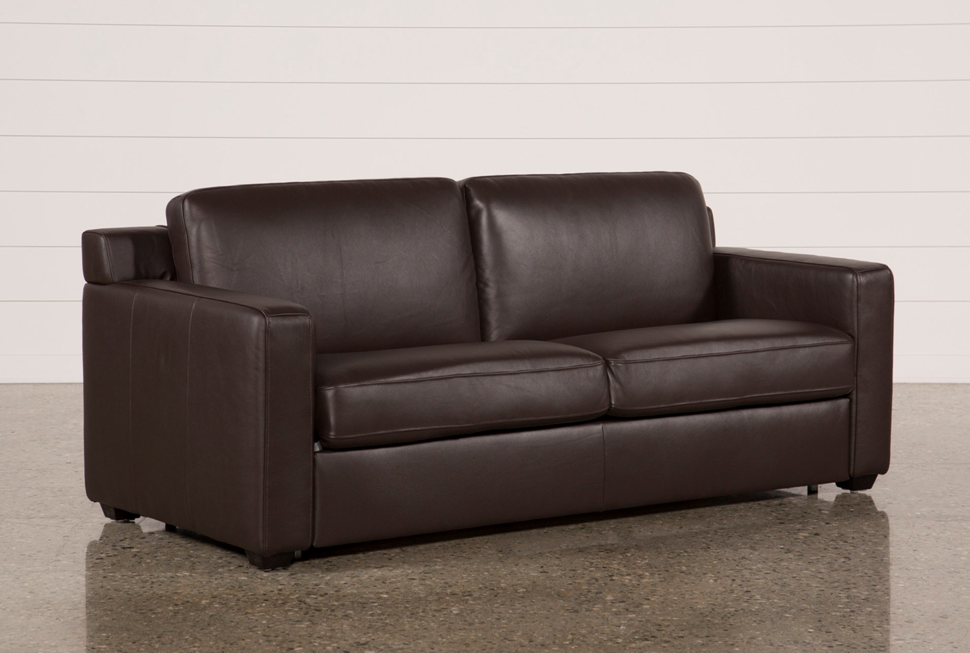 Nolan Leather Brown Sleeper Qty 1 Has Been Successfully Added To Your Cart