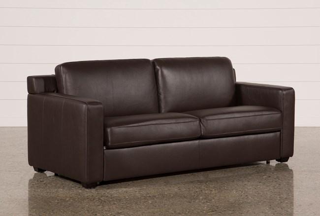 Nolan Leather Brown Sleeper - 360