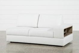 Larimar Stone Right Facing Sofa W/Storage & Usb