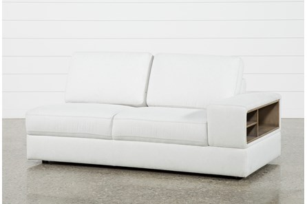 Larimar Stone Right Facing Sofa W/Storage & Usb - Main