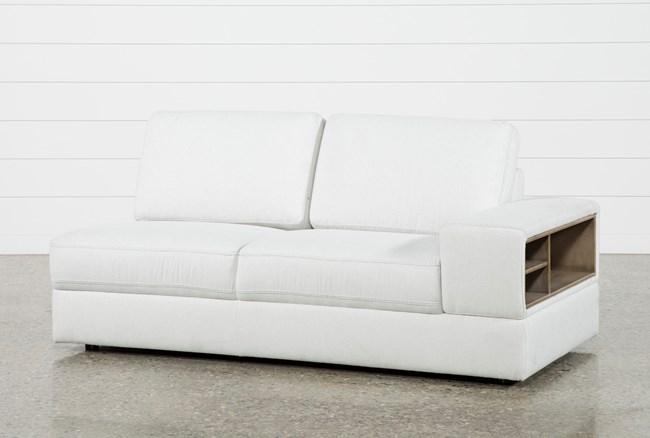 Larimar Stone Right Facing Sofa W/Storage & Usb - 360