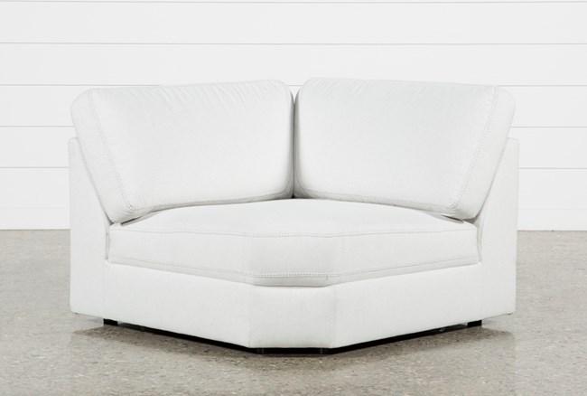 Larimar Stone Corner Chair - 360