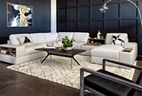 Larimar Stone 5 Piece Sectional W/Raf Chaise & Usb - Room