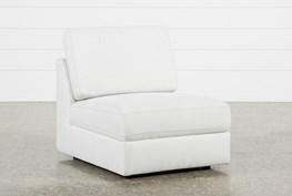 Larimar Stone Armless Chair