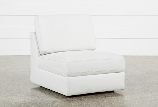 Larimar Stone Armless Chair - 360