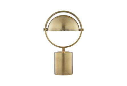 Desk Lamp-Brass Sphere