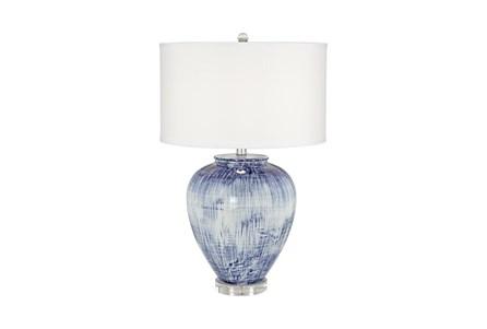 Table Lamp-Blue Wash Bulb - Main