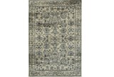 63X90 Rug-Acanthus Traditional Grey/Navy - Signature
