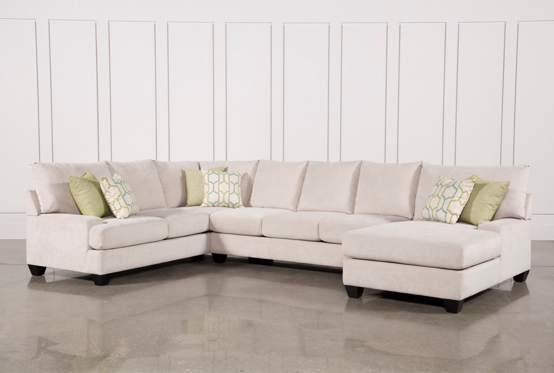 sectional free with garden slipcover chaise shipping hamptons home today overstock product
