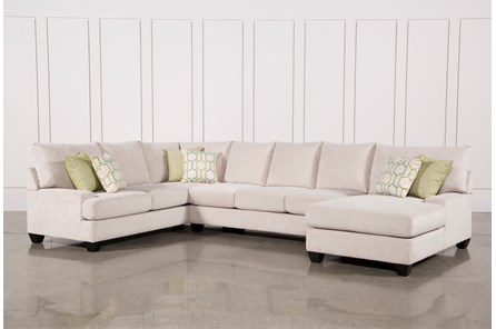Harper Foam 3 Piece Sectional W/Raf Chaise - Main