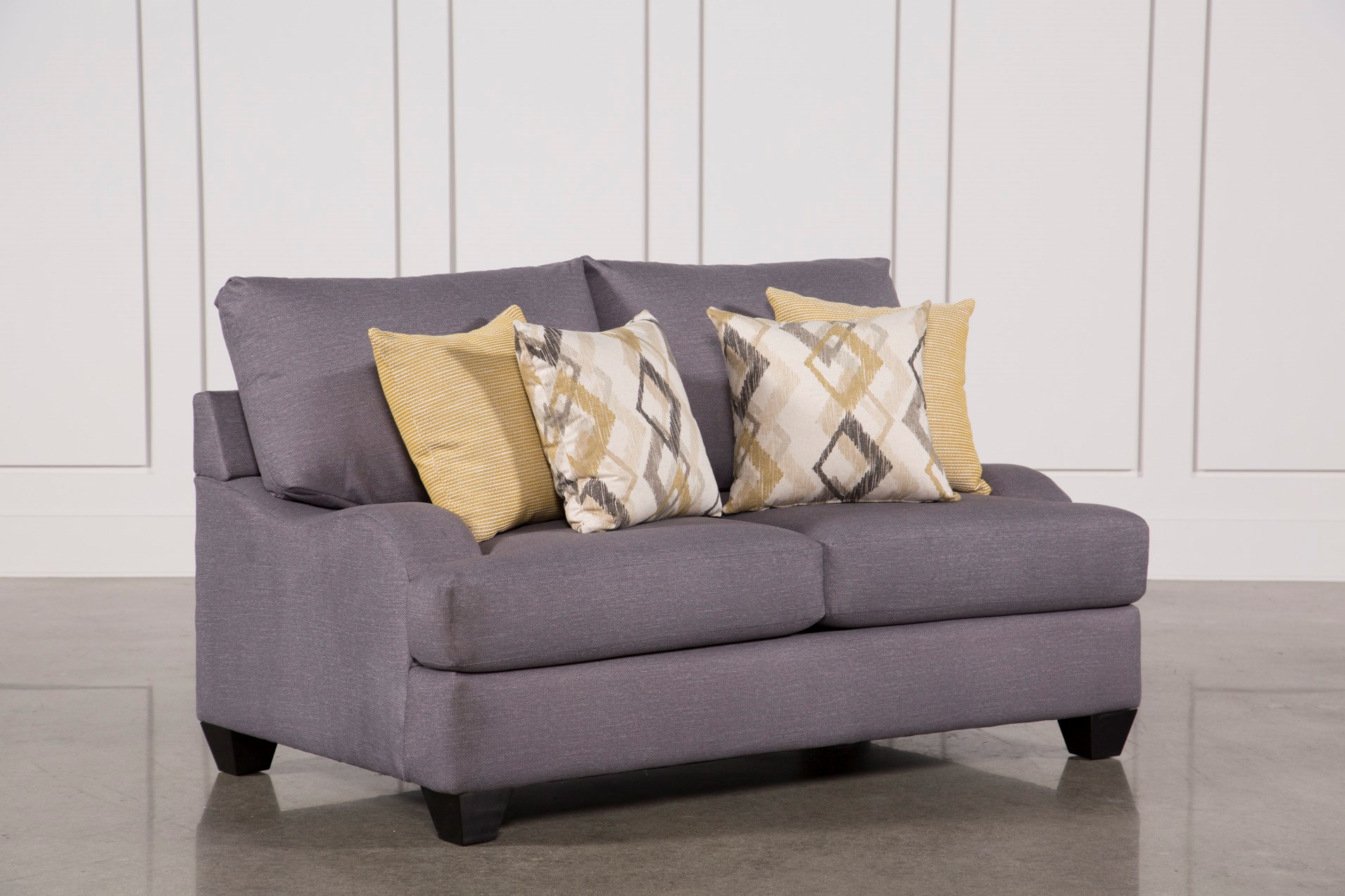 stadium seating couches living room. Sierra Foam Loveseat Loveseats  Free Assembly with Delivery Living Spaces