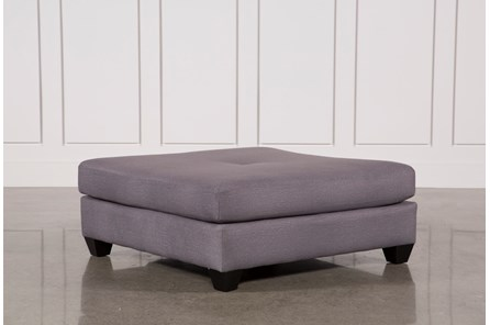 Sierra Foam Square Cocktail Ottoman - Main