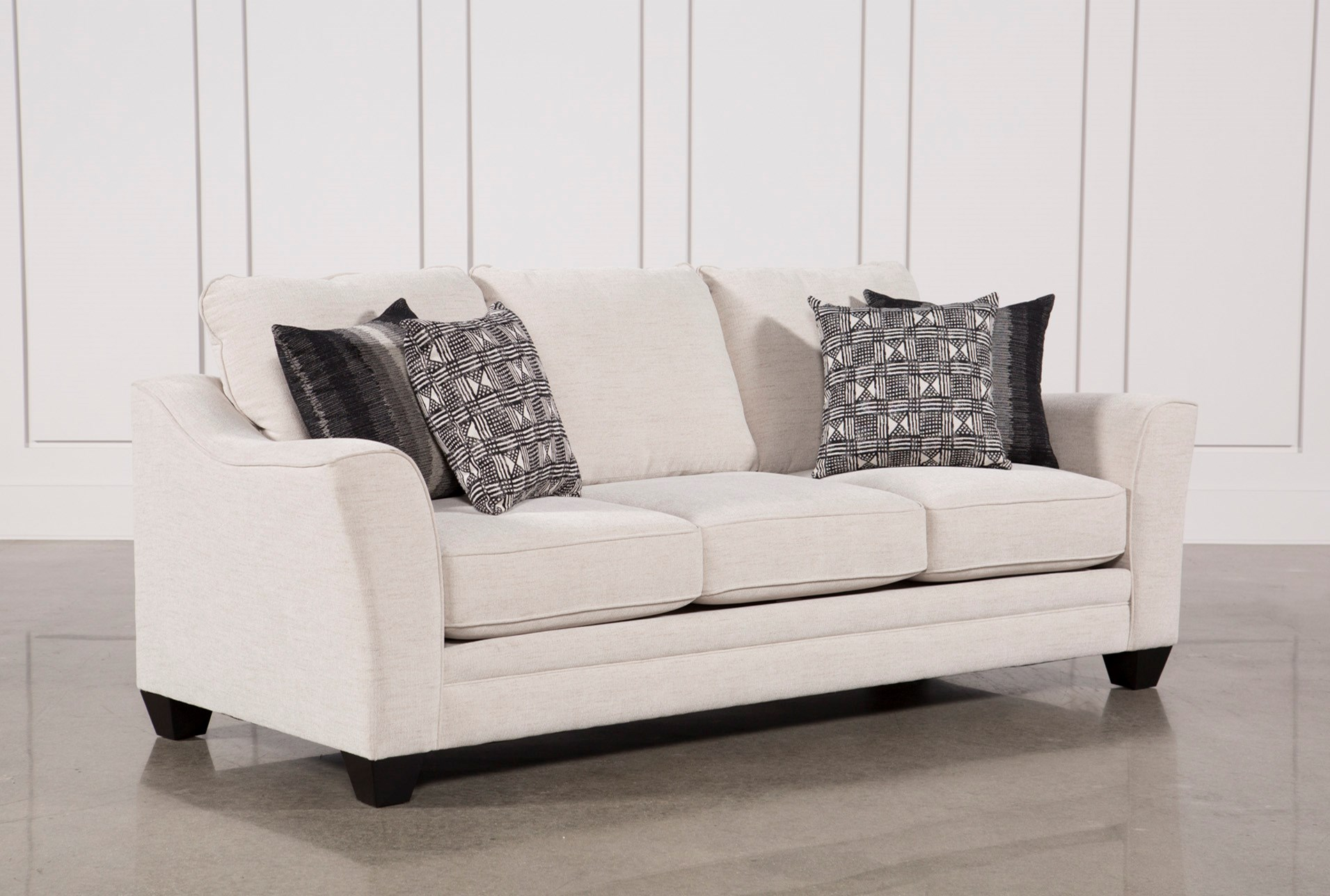 Fabric Sofas Couches Free Assembly With Delivery Living Spaces ~ Types Of Sofa Materials