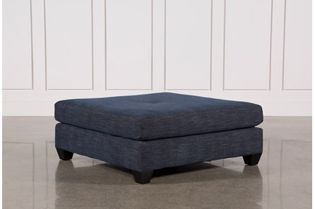 Sierra Down Square Cocktail Ottoman - Main