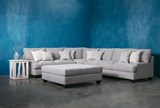 Harper Down 3 Piece Sectional - Room