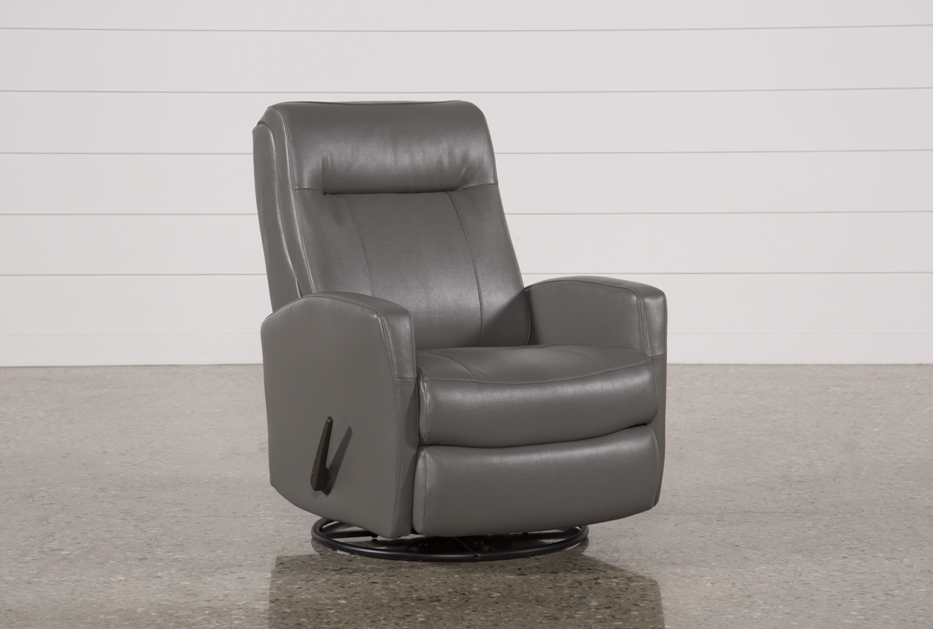 Delicieux Dale III Polyurethane Swivel Glider Recliner   360