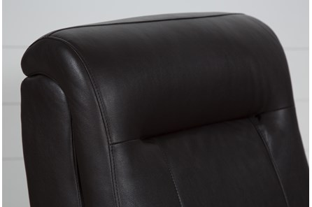 Dale III Polyurethane Power Rocker Recliner W/Power Headrest