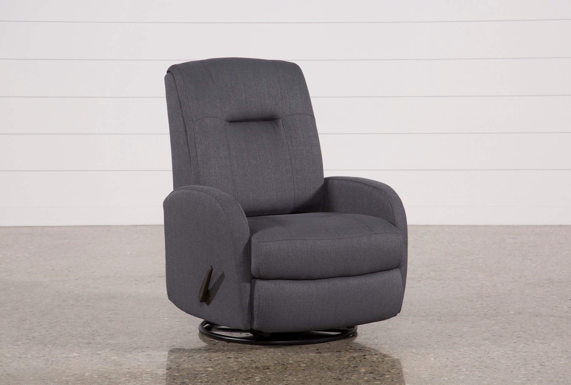 Franco Iii Fabric Swivel Rocker Recliner Living Spaces