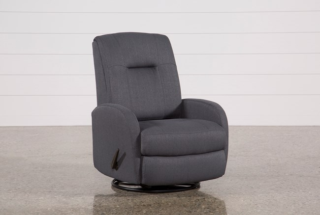 Franco III Fabric Swivel Rocker Recliner - 360