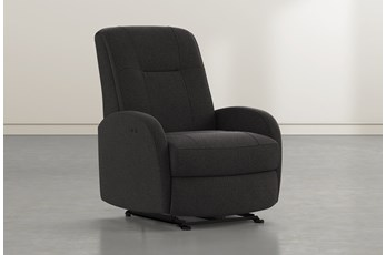 Franco III Flint Fabric Power Wallaway Recliner