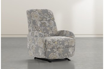 Franco III Granite Fabric Power Wallaway Recliner