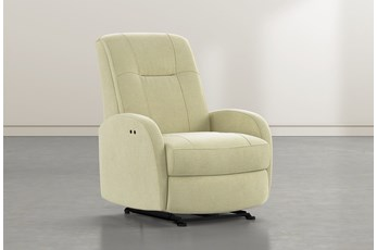 Franco III Spring Fabric Power Wallaway Recliner