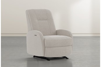 Franco III Linen Fabric Power Wallaway Recliner