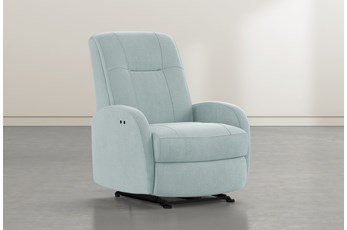 Franco III Spa Fabric Power Wallaway Recliner