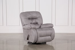 Decker II Fabric Swivel Glider Recliner