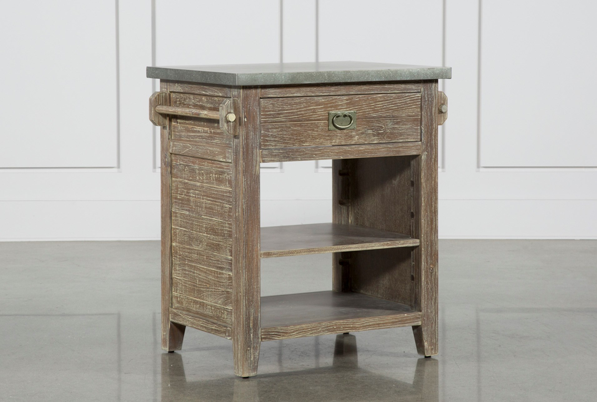 Zinc Top Kitchen Island Qty 1 Has Been Successfully Added To Your Cart