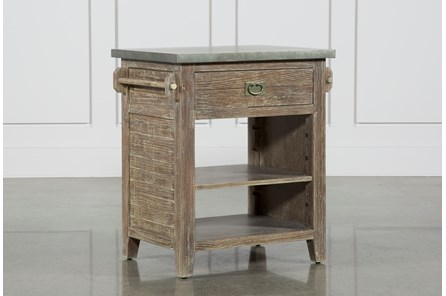 Zinc Top Kitchen Island - Main