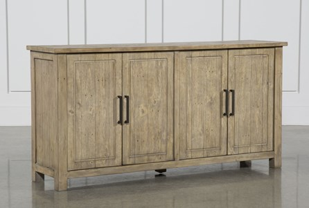 Reclaimed Pine 4-Door Sideboard