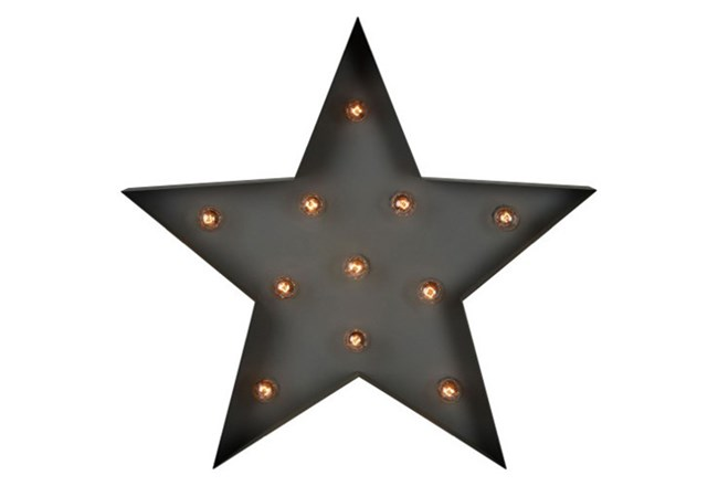 Youth-Metal Star Wall Decor | Living Spaces