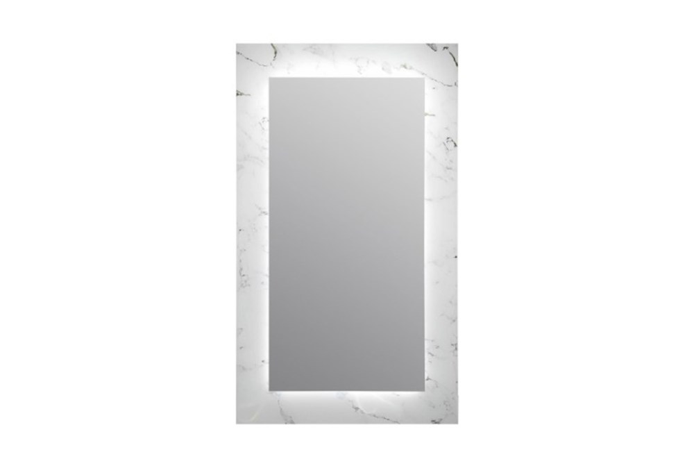 Wall Mirror-Marble Glass 24X40