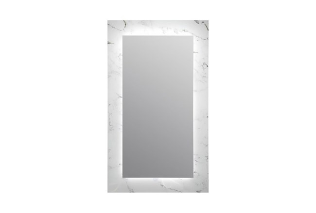 Wall Mirror-Marble Glass 24X40 - 360