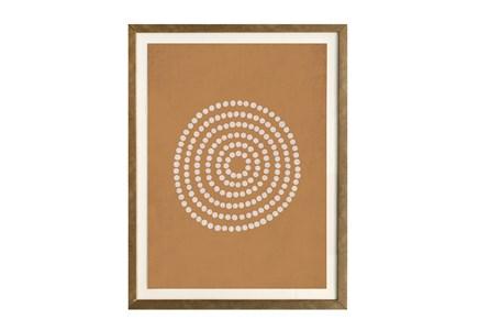 Picture-Orange Rag Paper 18X24
